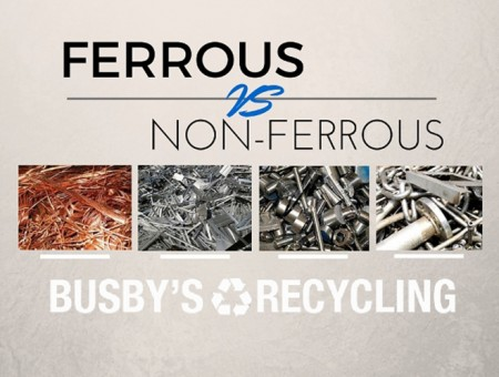 What Are The Differences Between Ferrous and Non-Ferrous Scrap Metal