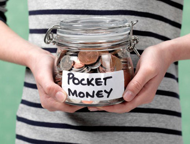Let Us Pay Your Kids Pocket Money