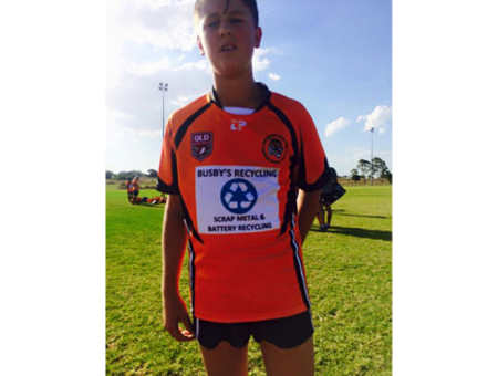 Sponsoring the U13's Souths Tigers Football Club