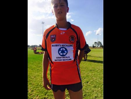 Sponsoring the U13's Souths Tigers Football Club
